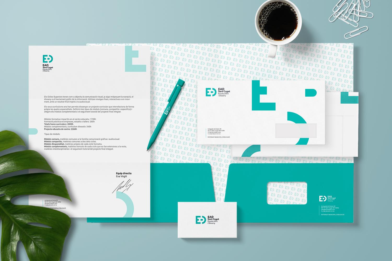 3_ead_escola_art_sant_cugat_branding_papeleria_corporativa