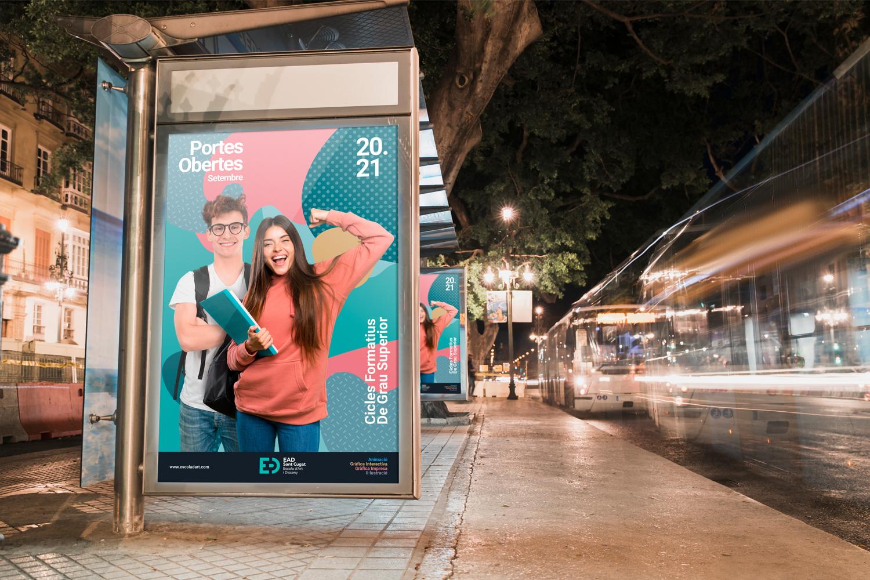 7_ead_sant_cugat_poster_advertise_branding_escola_art